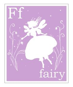 Lavender F Giclée Print  by  Finny and Zook