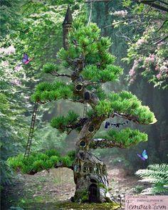 Fairy Like Tree House | fairy tree house | Gardening