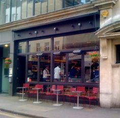 Barrafina - Spanish Tapas. Soho/London W1.
