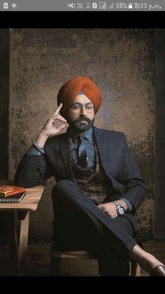 Lagend of sardar comunity. TARSEM JASSAR. Punjabi Men, Punjabi Fashion, Dressing Sense For Men, Gents Suits, Kurta Pajama Men, My Beau, Mens Fashion Suits, Men's Fashion, Turban Style