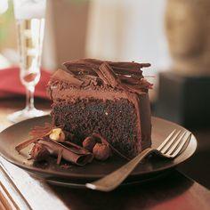 Belgian Chocolate Birthday Cake