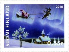 ◇Finland 2010 Vintage Stamps, Vintage Ephemera, Christmas Themes, Christmas Cards, Love Mail, Commemorative Stamps, Going Postal, First Day Covers, Love Stamps