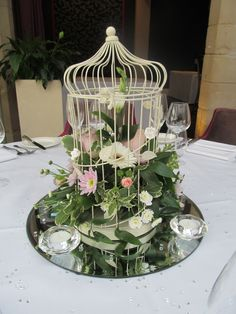 Bespoke floral designs from bouquets to buttonholes, table centres to pedestals. •Chair covers; swags; table runners and complete table decorations including tealights, crystals or petals. •Centrepieces using bubble bowls, lily vases, martini glasses, candelabras, mirror plates, conical vases - all available to hire. go to www.onestopweddingshopstaffordshire.co.uk for further information