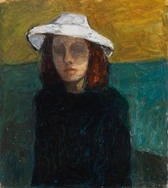"Elga Sesemann, ""Self-Portrait"" oil on canvas, 73 x 54 cm, Finnish National Gallery / Ateneum Art Museum (courtesy Finnish National Gallery / Janne Tuominen) / Four Uncompromising Finnish Women Artists Female Painters, Art Museum, Self Portrait Art, Figure Painting, Old Art, Painting, Art, Figurative Art, Portrait Art"