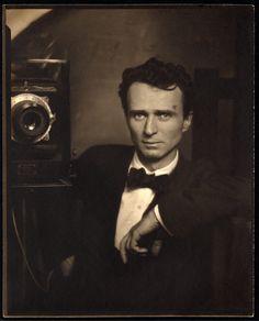 Hello handsome! Edward Steichen (American, b. Luxembourg 1879-1973), Self-Portrait, ca. 1917, palladium print.
