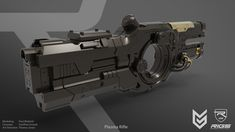 ArtStation - RIGS - Plasma Rifle, Paul Widelski