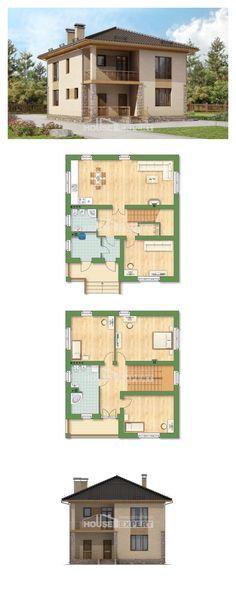 Ev villa projesi 170-005-L | House Expert