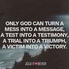 Only God can Turn Things Around