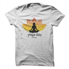 Yoga day flyer - #style #long sleeve shirt. GET YOURS => https://www.sunfrog.com/Fitness/Yoga-day-flyer.html?id=60505