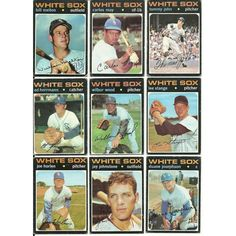 1971 Vintage Different WHITE SOX Topps 17 card lot 2 Rookie Stars John Melton Listing in the 1970-1979,Lots,MLB,Baseball,Sports Cards,Sport Memorabilia & Cards Category on eBid United States | 147697604