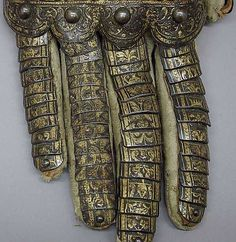 Gauntlet for the right hand, belonging to the armor of the Count of Niebla