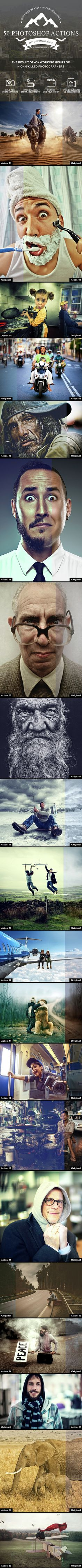 50 Photo Effect Photoshop Actions. Download here: http://graphicriver.net/item/50-photoshop-actions/14933702?ref=ksioks