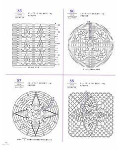 Crochet lace doilys