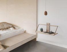 Andersen Furniture - Shelf wood wall. Solid oak Wood Wall Shelf, Wall Shelves, Small Furniture, Solid Oak, Floating Nightstand, Table, Design, Home Decor, Floating Headboard