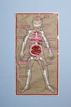 Marvelous Me! Paper Bag Human Body Project | Pinterest | Human body ...