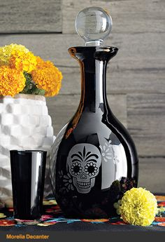 Morelia Decanter and Cordial Glass | Crate and Barrel