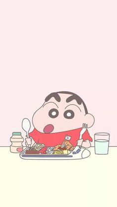 오늘은 저번에도 한번 올렸던 짱구 배경화면! 이어서 올려봅니당, ㅎㅎ 오늘 가져온 짱구는 대부분 파스텔 ... Sinchan Wallpaper, Cartoon Wallpaper Iphone, Kawaii Wallpaper, Cute Cartoon Wallpapers, Pretty Wallpapers, Aesthetic Iphone Wallpaper, Doraemon Wallpapers, Animes Wallpapers, Kawaii Art