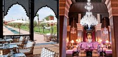 Selman Marrakech for lunch