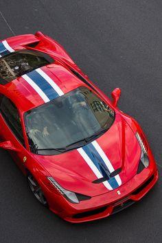 Ferrari 458 ~ LOVE IT! ~Reminds me of a Hotwheels Car. :)