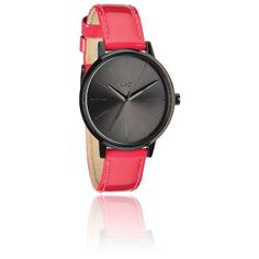 Montre The Kensington collection leather Bright Pink Patent à Quartz A1081394