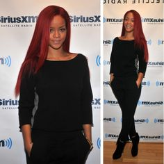 rihanna red hair - Google Search
