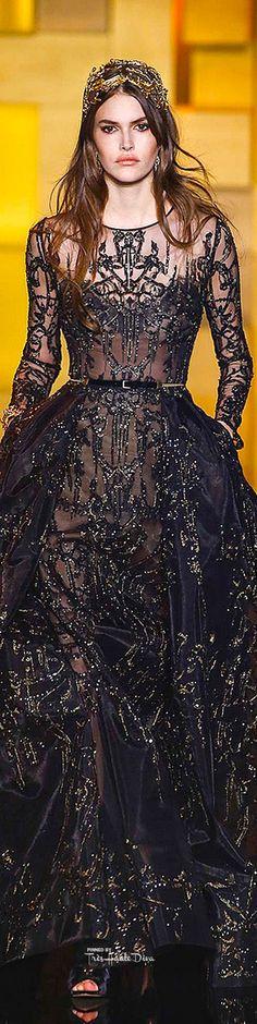 Elie Saab Haute Couture Fall 2015 ♔ Très Haute Diva
