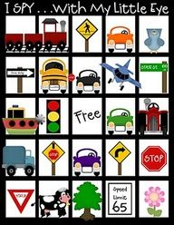 printable toddler games for car trips, maybe put these on magnet or felt board