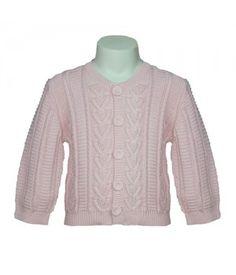 Bonnie Baby Cardigan - Pink
