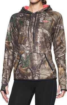 2dcd8a956861 Under Armour Women s Icon Camo Hoodie