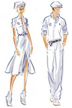 US prep: 2012 Olympic uniforms (Ralph Lauren)