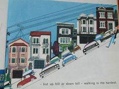 This is San Francisco, written and illustrated by Miroslav Sasek,1962  (reprinted in 1968).
