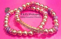 Luxurious Gypsy Beaded Bracelets by RandRsWristCandy on Etsy, $9.00