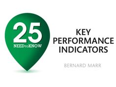 25 KPIs Every Manager Needs To Know by Bernard Marr via slideshare