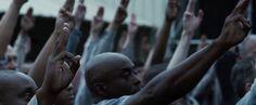 District 11 honoring Rue Hunger Games Katniss Everdeen Peter Mellark