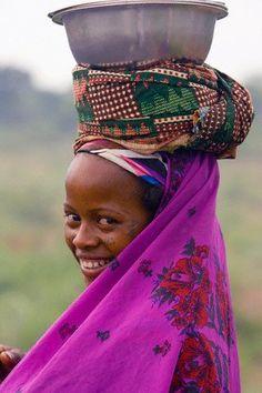 Woman from Benin, Africa