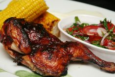 BBQ Grilling Recipe Ideas: Grilled Chicken With Blueberry Mustard Sauce The Chew Recipes, Sauce Recipes, Barbecue Recipes, Grilling Recipes, Grilling Tips, Barbecue Chicken, Chicken Rub, Chicken Skin, Barbecue Sauce