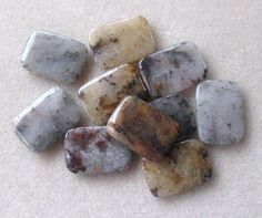 Brown Moonstone, Rectangle Pendant, Jewelry Making, Gemstone Pendants,  (1)