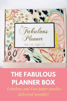 Notebook Binder, Stationary Box, Planner Supplies, Struggle Is Real, Planner Organization, Pencil Pouch, Subscription Boxes, Paper Goods, Craft Stores