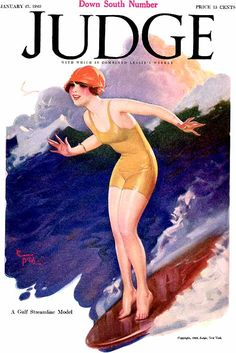 Judge Cover Illustration by Enoch Bolles 1923