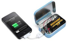 #iPhone charger - Build your own portable #Mobilephone charger #Mobilephones #Technology #DIY