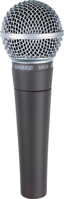 Shure SM 58...microphone of choice for many live and studio applications.....excellent......