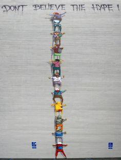 Os Gemeos - brazilian artists      http://osgemeos.com.br/