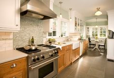West Tabor House contemporary kitchen