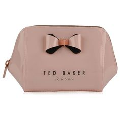Ted Baker Denty Wash Bag ($41) ❤ liked on Polyvore featuring beauty products, beauty accessories, bags & cases, make up purse, ted baker, travel kit, makeup purse and wash bag