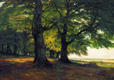 Тевтобургский лес. 1856 - Иван Иванович Шишкин , 67×95 см • Масло, Холст