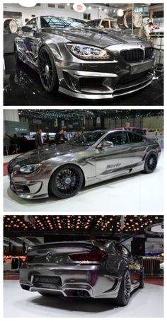 "Hamann's BMW M6 ""Mirr6r"" package was one of the eye catching displays at the Geneva Motor show. Click to see more."