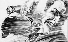 Batman and Joker By Alex Ross