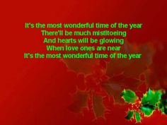 It's the Most Wonderful Time of the Year (Lyrics)~Andy Williams