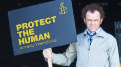 It's simple, really, for John C. Riley. Protect the human - Activismo / Activism