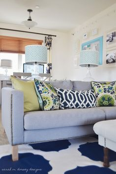sarah m. dorsey designs: Karlstad Sofa with Nailhead Trim